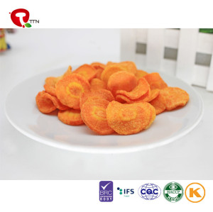 TTN 2018 Sale Factory Vacuum Fried Carrot Cream Juice Cheap Price