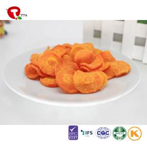 TTN 2018 Sale Factory Vacuum Fried Carrot Cream Juice Cheap Price