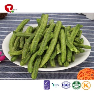 TTN  Wholesale Vacuum Fried Green Knife Bean Natural Health Without Pollution