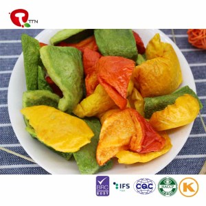 TTN Wholesale Sale Vacuum Fried Vegetable Bell Pepper