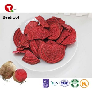TTN Wholesale  Sale Vacuum Fried Beetroot Chips With Powder