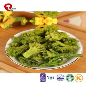 TTN Wholesale Vacuum Fried Crispy Green Broccoli