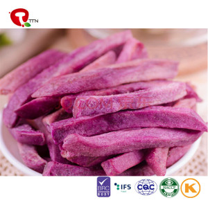 TTN Factory Direct Sale Vacuum Fried Purple Potato With Sweet Potatoes Healthy For You