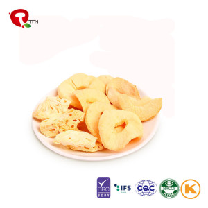 TTN New 2018 Sale Vacuum Fried  White Apple Chips