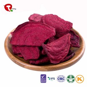 TTN New Wholesale Vacuum Fried Beetroot Chips
