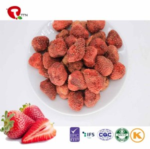 TTN 2018 Wholesale Bulk Vacuum Fried Strawberry