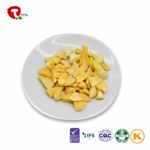 TTN Direct Manufacturer Cheap Price Vacuum Fried Yellow Peach Crisp Chips Snacks