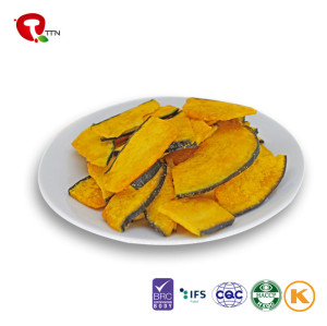 TTN Wholesale Bulk Vacuum Fried Pumpkin Vegetable Chips