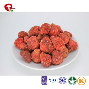 TTN Sale New Product  Vacuum Fried Strawberry Chips Fruit