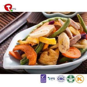TTN  Wholesale Healthy Food Vacuum Fried Vegetables Chips