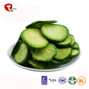 TTN  Wholesale Sale Nutrition Vacuum Fried Green Radish Chips