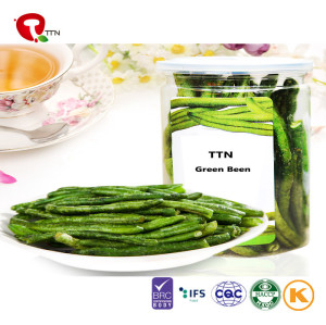 TTN  Wholesale Sale All Vegetables Of Vacuum Fried Green Beans