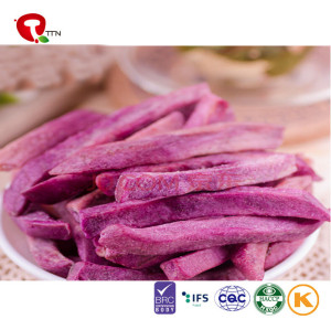 TTN  Factory Outlet Vacuum Fried Potato Strip Of Purple Sweet Potato Nutrition