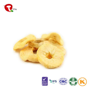 TTN  2018 Wholesale Vacuum Fried Healthy Food Apple with apple nutrition