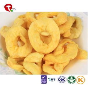 TTN Sale Vacuum Fried Fruit  Sugar Free Apple Chips apple chips