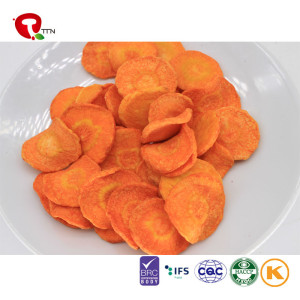 TTN Wholesale Sale VF Veggie Chips For Vacuum Fried Carrot Chips