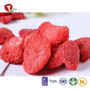 TTN Wholesale  Cheap Price Vacuum Fried Sugar Free Strawberry Chips