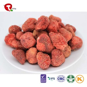 TTN  Lowest Prices In Wholesale Market Vacuum Fried Strawberry