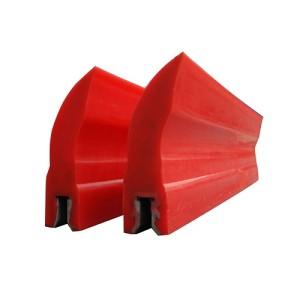 Conveyor belt scraper polyurethane replacement blade