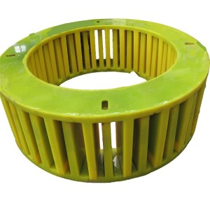 Flotation cell flotation spare part polyurethane stator and rotor
