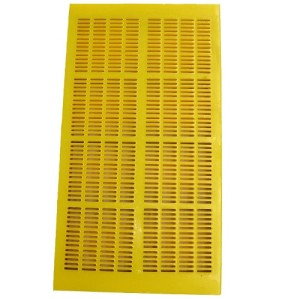 Vibration sieve plate polyurethane fine aperture screen panel