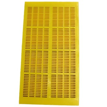 Vibration sieve panel polyurethane dewatering screen plate