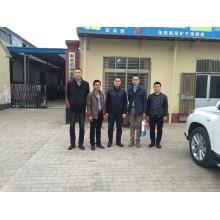 Kazakhstan customers visit our factory