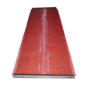 Mining Vibrating Tensioned Polyurethane Screens Mesh