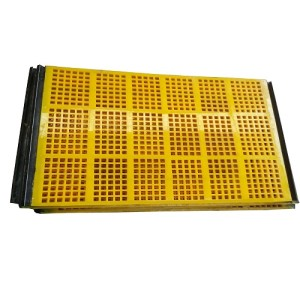 Tensioned Polyurethane Screen for mining