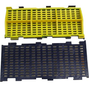 Modular Polyurethane Screen Mesh - No Pegging or Blinding