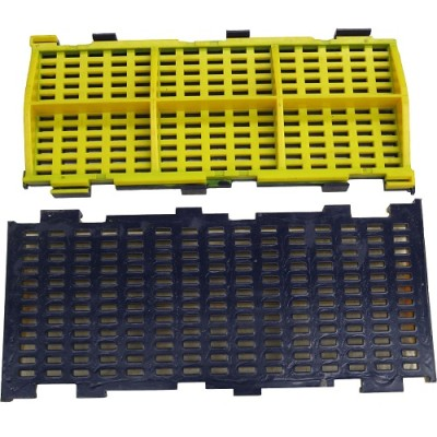 Modular Polyurethane Screen Mesh - No Pegging or Blinding