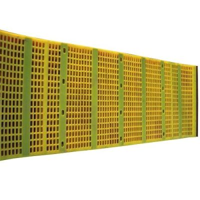 Tensioned Screen Mat for mineral separating