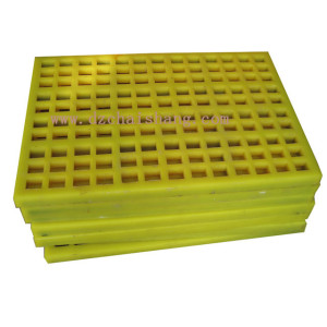Vibrating Screen Polyurethane Sieve Plate Sand Modular Polyurethane Screen