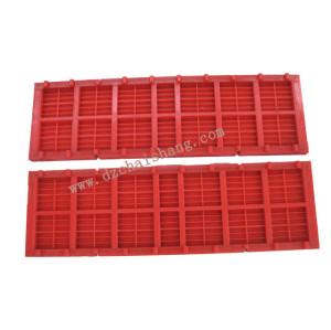 Polyurethane Sieve Mesh Vibration Screen For Sand Grading Flip flow screens banana sieve mesh
