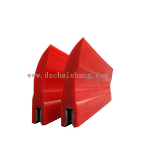 Scraper for belt conveyor PU cleaner heavy duty belt cleaner