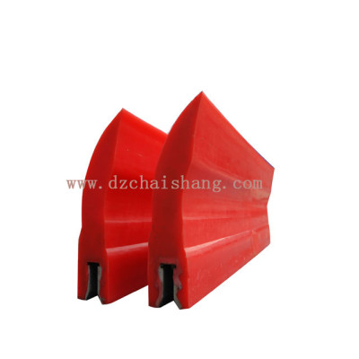 Scraper for belt conveyor PU cleaner heavy duty belt cleaner
