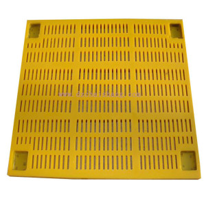 China quality reasonable price mineral processing vibration sieves panel