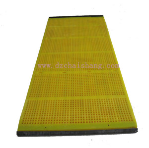 Mining Polyurethane Sand Vibrating Screen Mesh for sand minerals ore stone