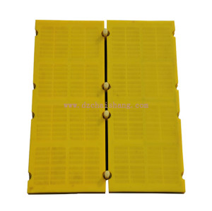Mining vibrating screens polyurethane modular sieve panel