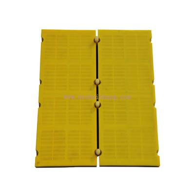 Mining vibrating screens polyurethane modular sieve panel
