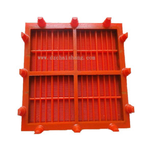 Heavy duty modular screen panels Trommel screen panels