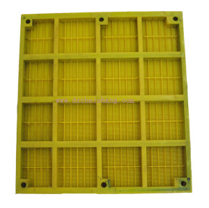 Nature Rubber screen mesh for mineral vibrating sieving mesh, Iron Wire Mesh