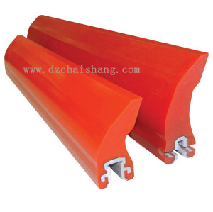 Polyurethane Blade Conveyor V-Plough Plow Belt Cleaner/Scraper
