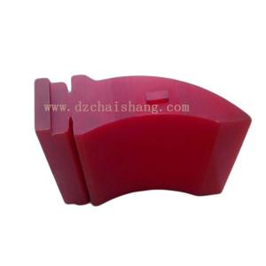 Polyurethane scraper belts blade