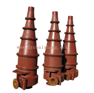 4'' & 10'' polyurethane hydrocyclones  for desander and desilter