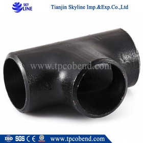 Export carbon steel pipe fitting tee from China