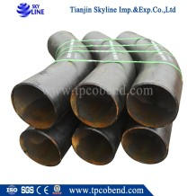 China supplier black carbon steel seamless steel pipe bends