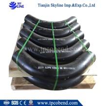 ISO manufacturer carbon steel pipe bend hot formed bend