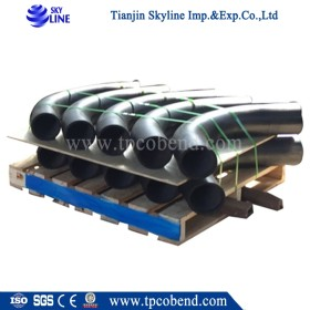 Wholesaler Supply Carbon Steel Hot Induction pipe Bend