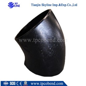 New B16.9 A234 1.5d steel pipe elbow